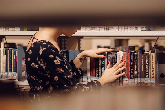 """Foto für Aktion """"Deine Bibliothek kommt zu dir"""""""